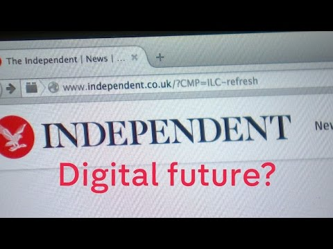The Independent goes totally digital