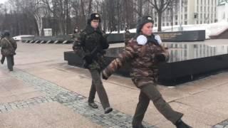 Нижегородский Кремль  Почётный караул школы 154 Приокского района