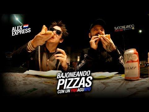 Bajoneando pizzas con un Paraguayo en Argentina ft Alex Express