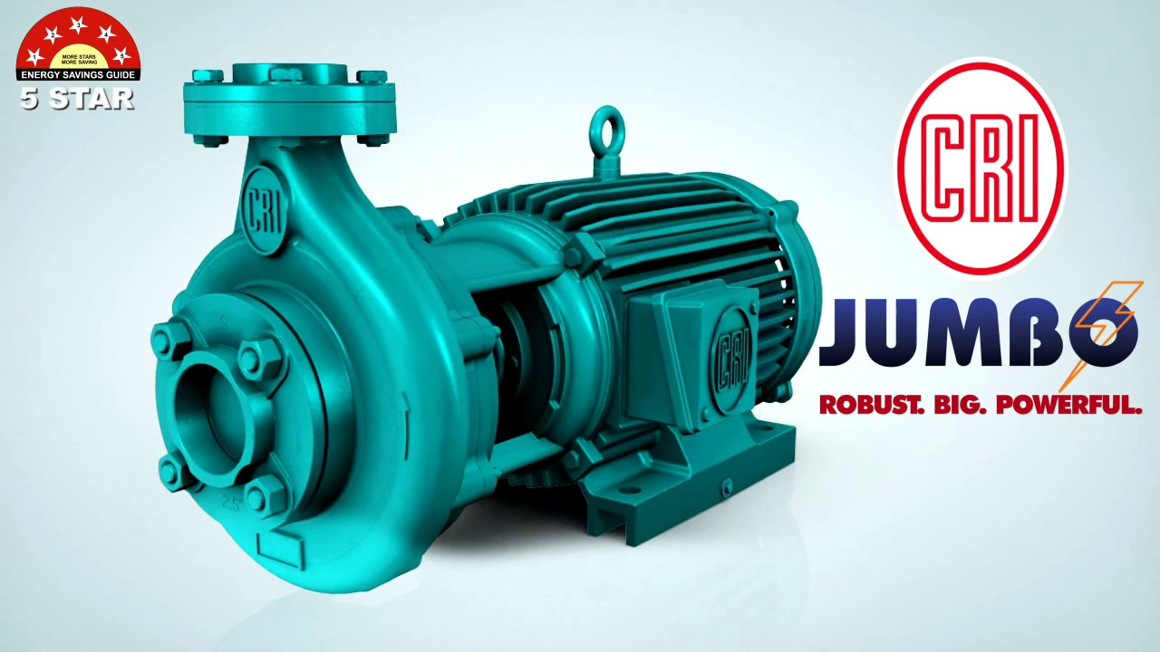 552da5b84e09 NEW 5 STAR RATED C.R.I. Jumbo Series Monoblock Pumpsets. C.R.I. Pumps