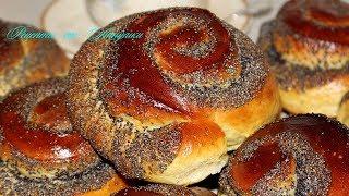 Сдобные булочки с маком. Обалденно вкусные
