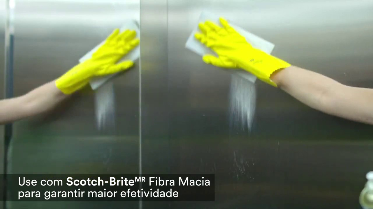 Brilha Inox Scoth Brite - 3M - YouTube