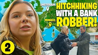 Hitchhiking with a Bąnk Robber