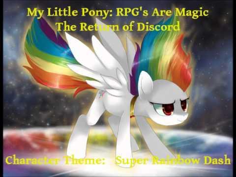 MLP:RPG's Are Magic- Part Fifty-three- Cutscene Theme- Super Rainbow Dash
