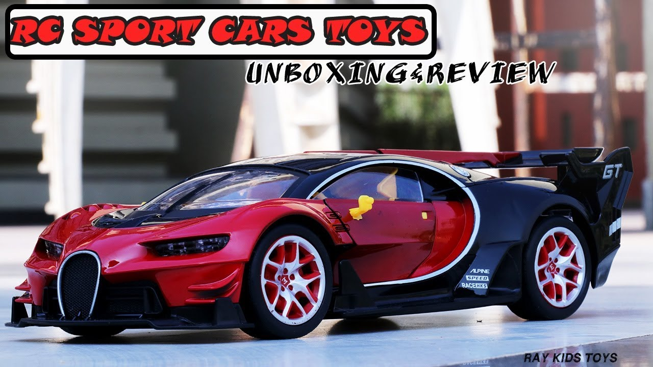 Bugatti Veyron Rc Unboxing Review Toys Cars Remote Control