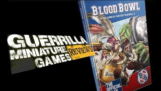 GMG Reviews - BLOOD BOWL - Second Season Edition Rulebook by Games Workshop