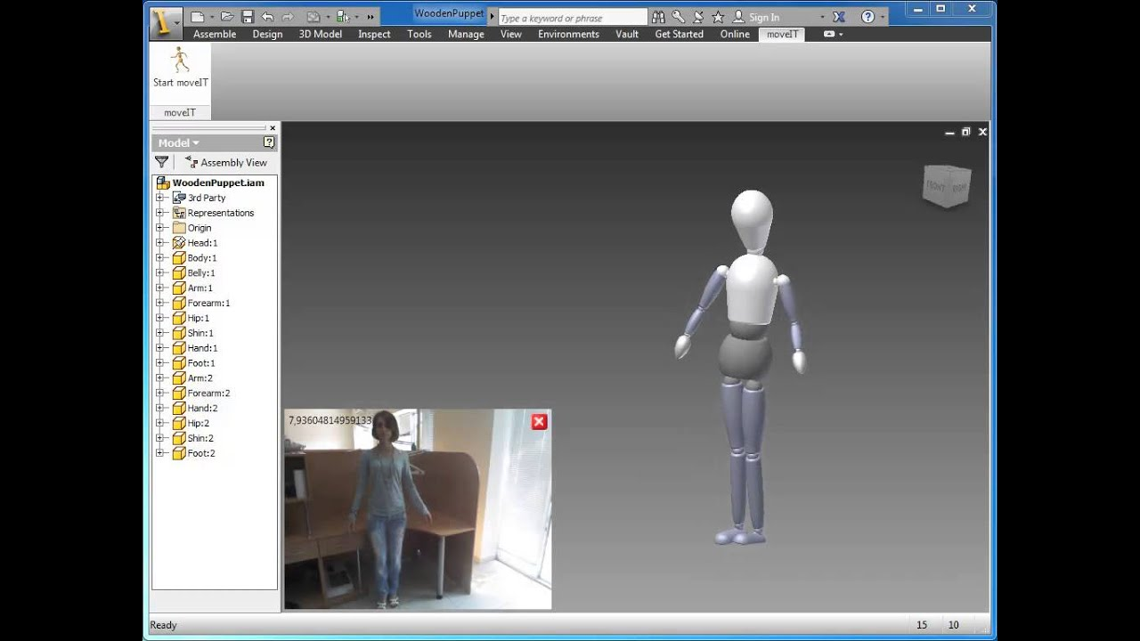 Moveit for inventor youtube Easy 3d modeling software