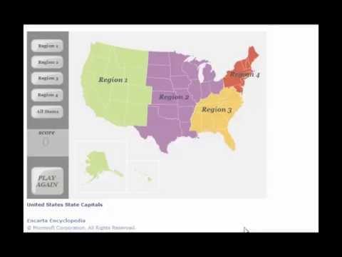 United States State Capital Region 2