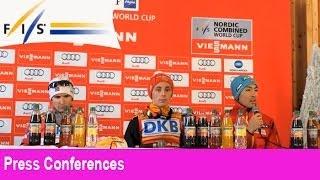 Press Conference, Oberstdorf Ind. Gundersen 26.01.2014