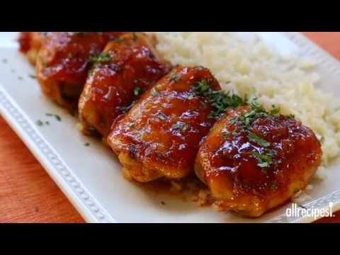 How To Make Baked Apricot Chicken | Chicken Recipes | Allrecipes.com