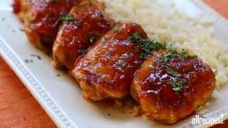Chicken Recipes - How To Make Baked Apricot Chicken