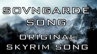Repeat youtube video SOVNGARDE SONG - Skyrim song by Miracle Of Sound