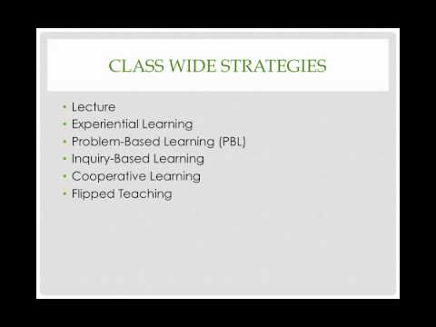 Teaching Styles and Strategies Overview
