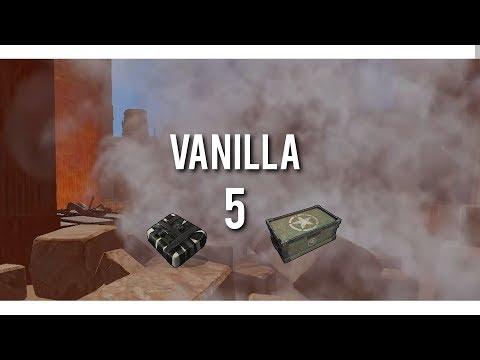 Rust VANILLA 5ㆍCountering Raids & Heli [SOLO]