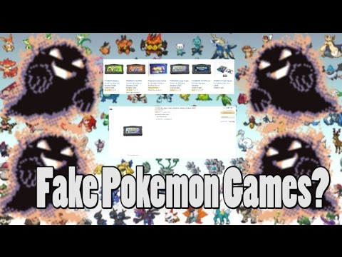 Fake Pokemon Games Being Sold As Real Ones?!