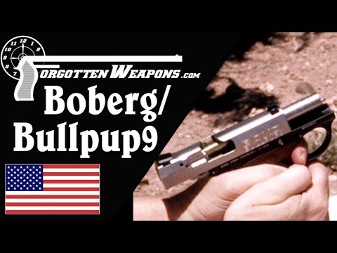 Does the BobergBullpup9 Design Reduce Recoil?