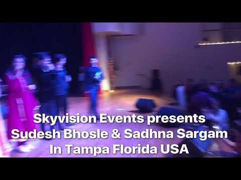 Amitabh aur main @ Tampa Florida by Skyvision Events