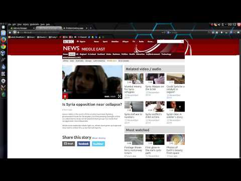 How To Force BBC News To Play HTML5 Videos