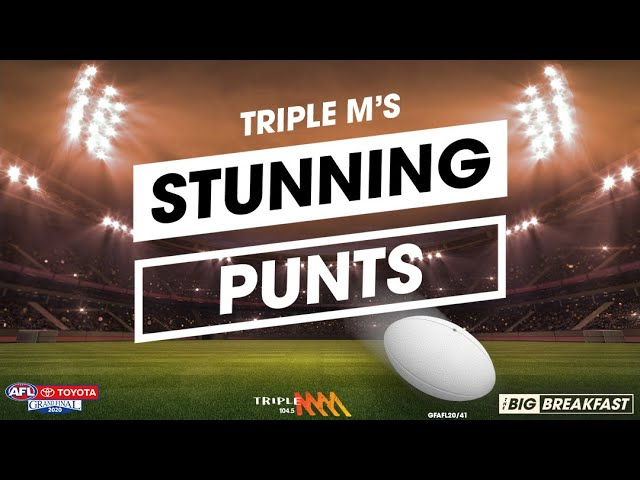 WIN AFL Grand Final Tickets with Stunning Punts | Triple M