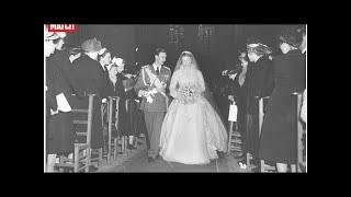 Au mariage de Jean de Luxembourg et Joséphine-Charlotte de Belgique, il y a 65 ans
