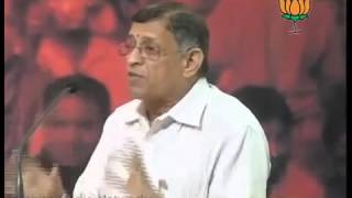 S. Gurumurthy speech during BJP Press on Globalization and Indian Society (Full)