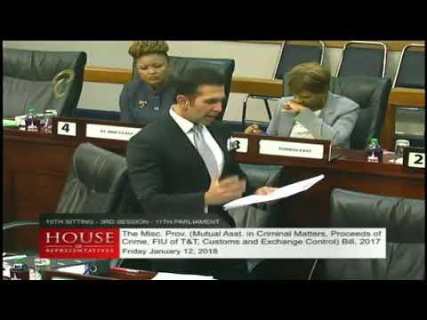 """The Honourable Faris Al-Rawi's Wrap Up Of """"The Miscellaneous Provisions Bill 2017"""" (12/01/18)"""