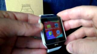 Smartwatch DZ09 Review PT-PT