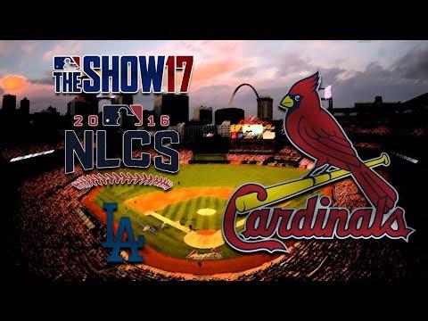 MLB The Show 17 - Custom St. Louis Cardinals - NLCS Vs Dodgers