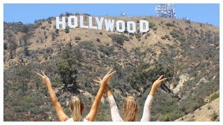 How to get close to the Hollywood Sign | Teagan & Sam | The Rybka Twins