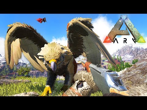 ARK: SURVIVAL EVOLVED - TAMING A GRIFFIN!!