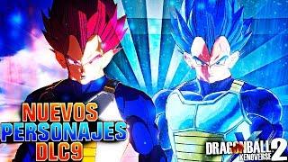 ¿¡NUEVOS PERSONAJES en el DLC 9 CONFIRMADOS!? Dragon Ball Xenoverse 2