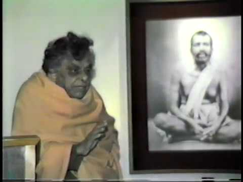 Swami Aseshananda recounts meeting with...