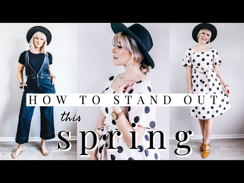 SPRING STYLING TIPS FOR 2020 | HOW TO ACCESSORIZE | SPRING CLOTHING INSPIRATION + GIVEAWAY