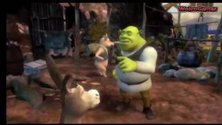 Shrek 4 Forever After Gameplay Wii