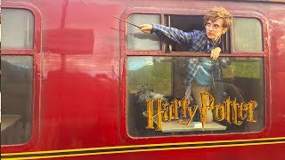 Harry Potter Things To Do on the HOGWARTS EXPRESS ft. Brizzy Voices (Part 2: Jacobite Train)