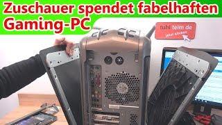 Zuschauer spendet fabelhaften Gaming PC mit Ultra 160 SCSI