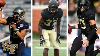 Wake Forest Football: 3 To Watch