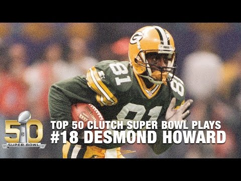 #18: Desmond Howard