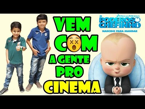 VEM COM A GENTE PRO CINEMA | O PODEROSO CHEFINHO 3D  (MUITO BOM)