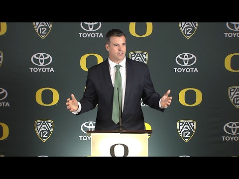 New Oregon head coach Mario Cristobal vows to operate program on 'foundation of trust'
