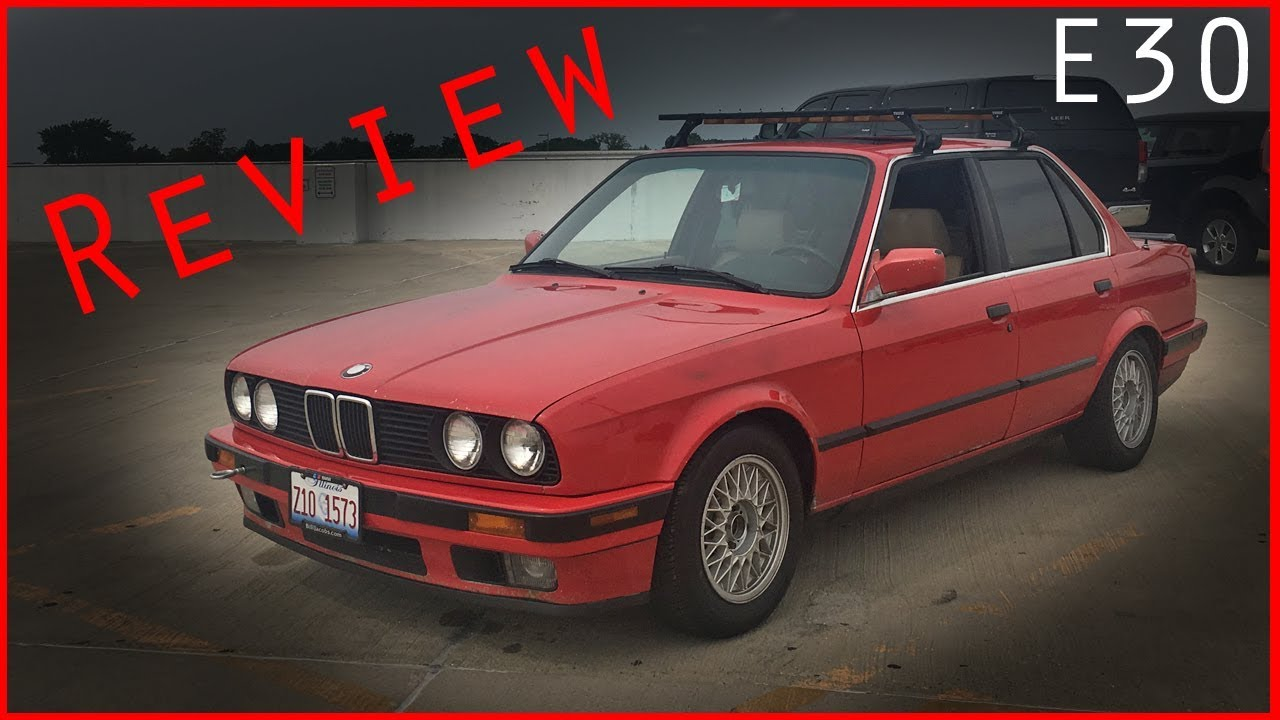 1991 Bmw 318i E30 Review