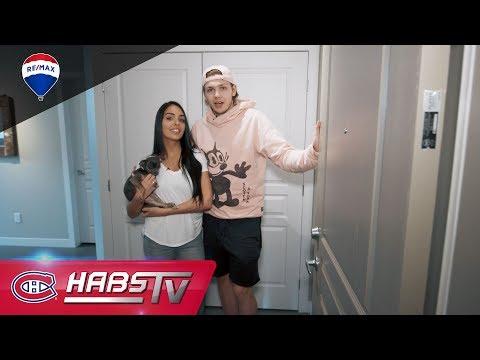 CHez Nikita: A tour of Nikita Scherbak's house (Habs Cribs)