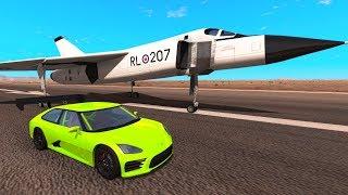 RACERBIL VS FLY // BeamNG Drive [Dansk]