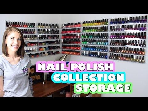 nail-polish-collection-storage-|-acrylic-wall-racks