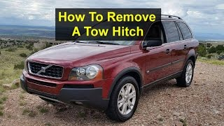 How to remove and install a tow hitch on a Volvo XC90 - VOTD