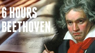 Beethoven study music - 6 hours piano mix | studying concentrate | relaxation | uplifting 432hz |