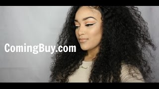 Deep Curly 360 Lace Wig | ComingBuy