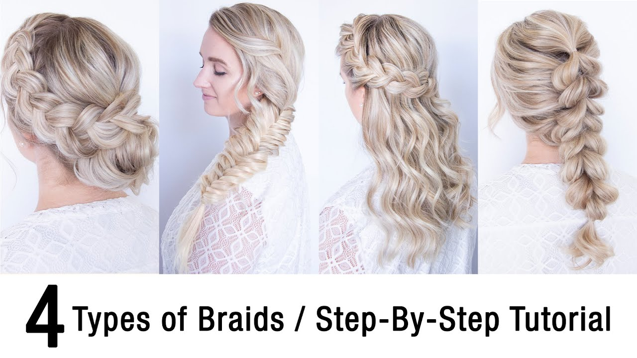 9 Types Of Braids   Step By Step Tutorial   Kenra Professional