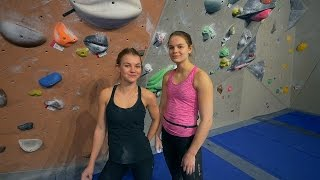 Freja And Ingrid Are Climbing With Us Today!