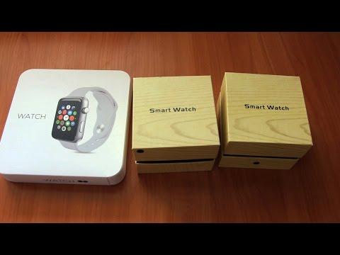 Лучшие копии Apple Watch (3 версии: MTK, G10, H6)